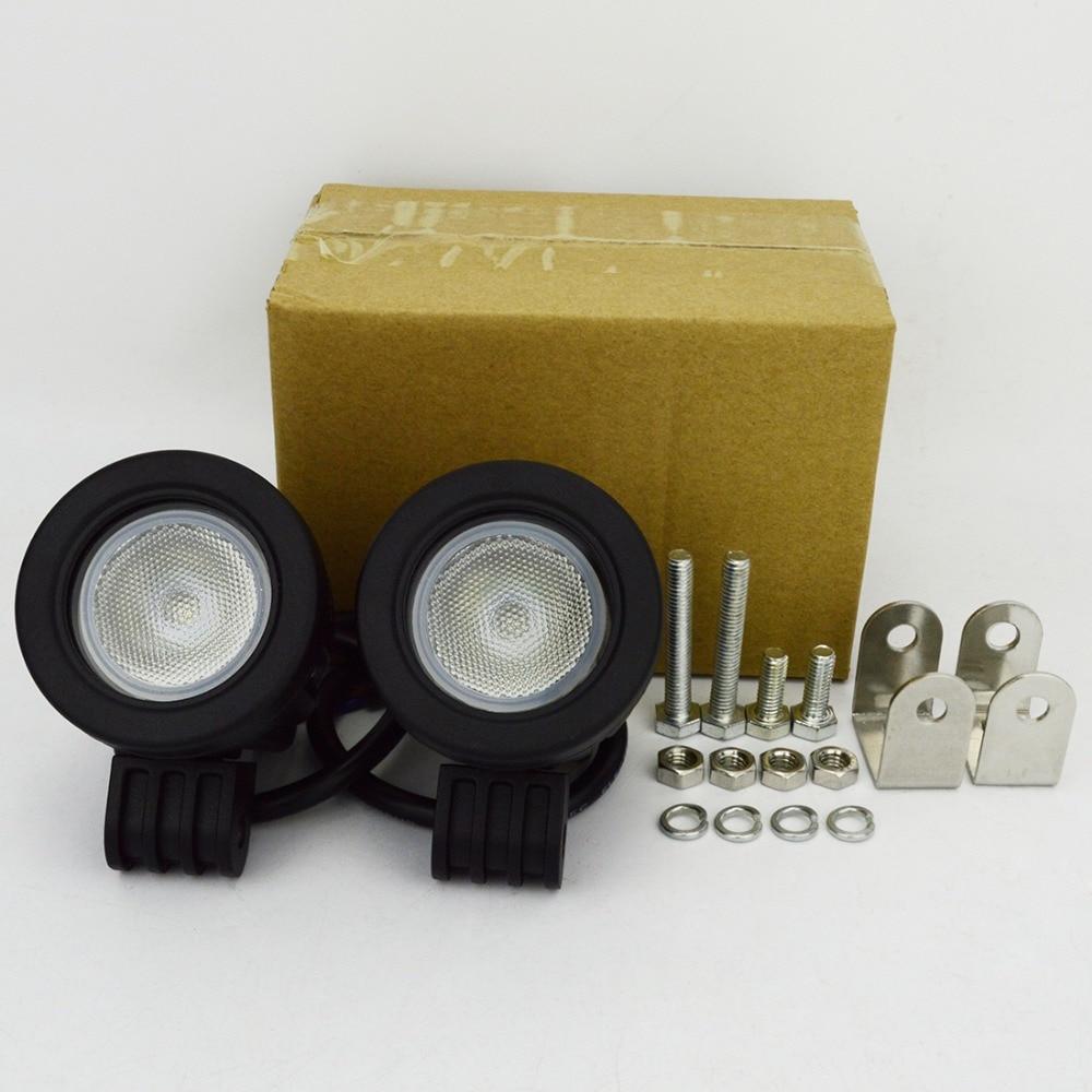 2pcs 10W οδήγησε LED φως 12V αυτοκίνητο SUV - Φώτα αυτοκινήτων - Φωτογραφία 3