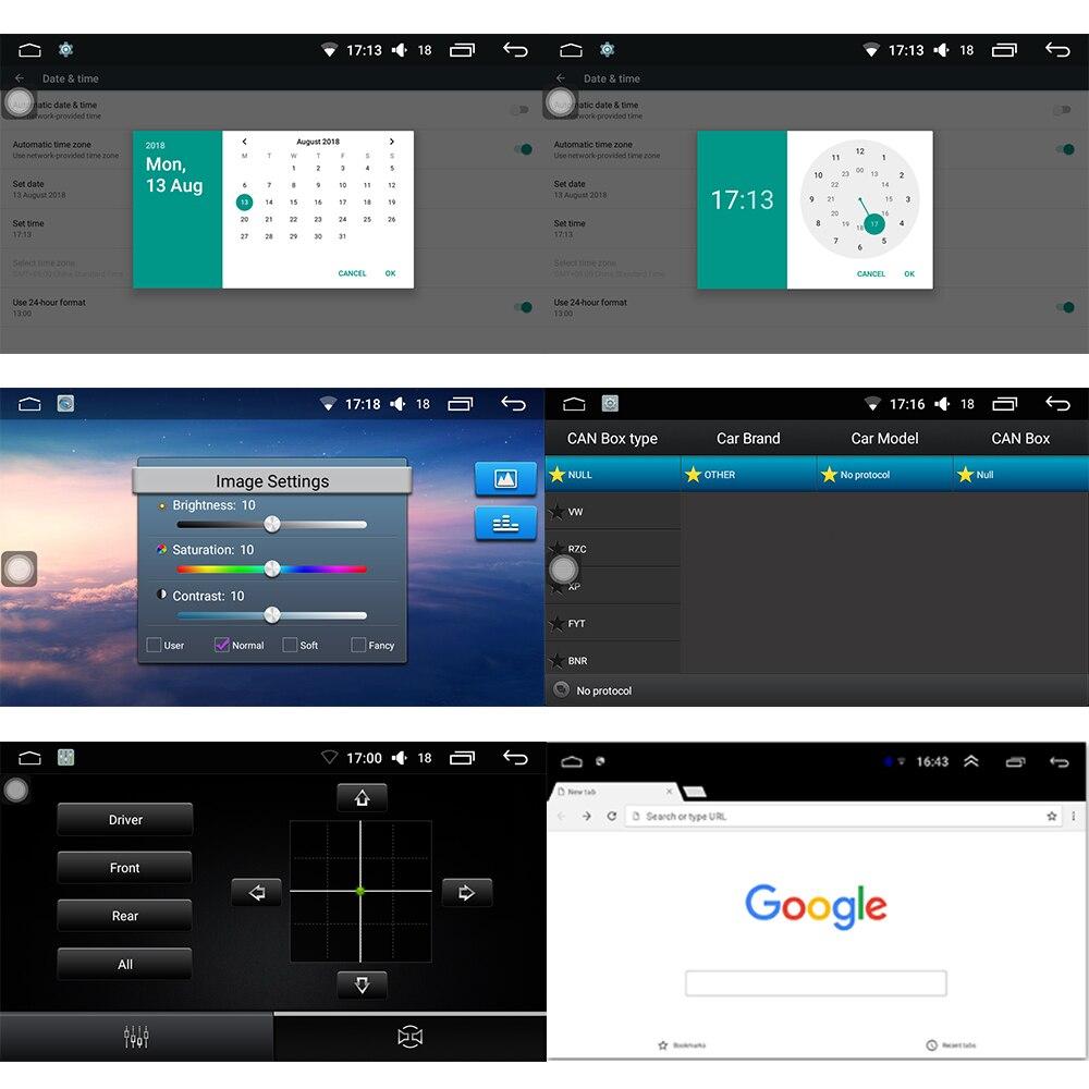 Panlelo Android 7.1 2 Din pour Mazda 6 Atenza CX5 Atenza Axela Auto 1 GB 16 GB Radio AM/FM GPS Navigation BT commande au volant - 6
