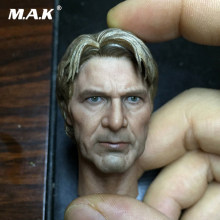 "1/6 Scale Male Head Carving Russia The Force Awakens Harrison Ford Han Solo 1/6 Head F 12"" Male Figures(China)"