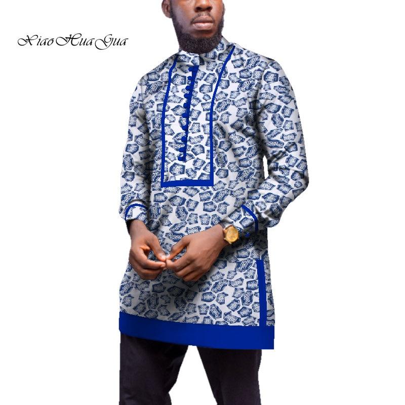 Tradicional Africano Africano Bazin Riche Encabeça Homens