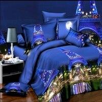 Quilt, 3D quilt, sanding bedding, a family of four textile