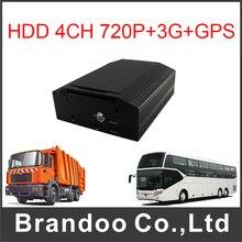 AHD DVR 720P MDVR Mobile DVR GPS 3G HD Car DVR