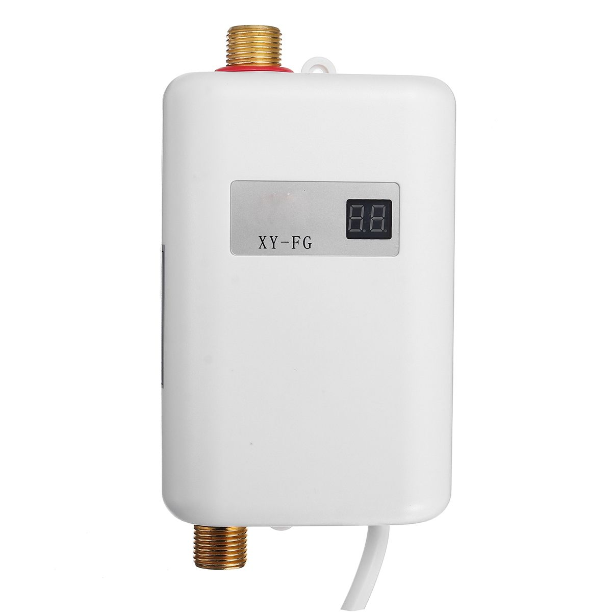 Chauffe-eau électrique 3000 W, chauffe-eau instantané sans réservoir, 110V 3KW, affichage de la température, chauffage de douche universel