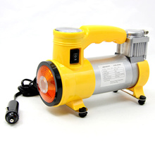Portable Air Compressor Heavy Duty 12V 150 PSI Pump Tire Inflator Car Tool Car Care