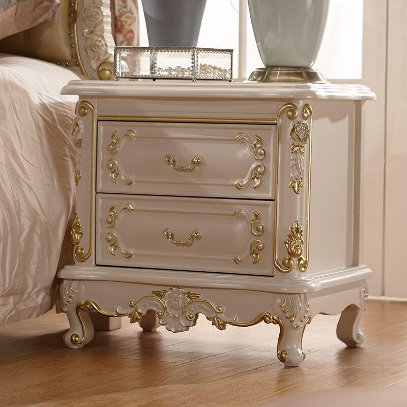 Only cama de boda de madera maciza francesa - Camas de cuero ...