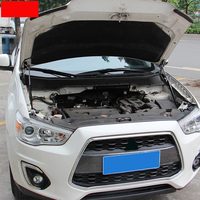 Car Styling Hood Cover Hydraulic Rod Gas Strut Telescopic Rod Engine Cover Lift Support For Mitsubishi ASX 2013 2019