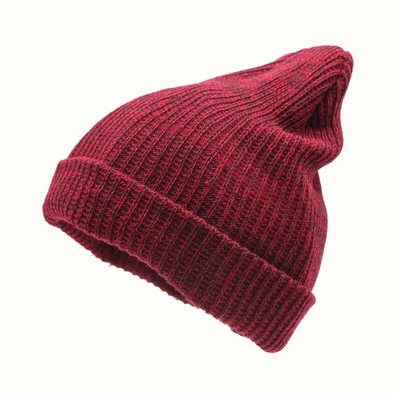 494272fcefc 2018 Winter Beanies Solid Color Hat Unisex Plain Warm Soft Beanie Skull  Knit Cap Hats Knitted