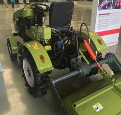 Buena venta 15HP pequeña cuatro ruedas Tractor cultivador Seeding Machine 154