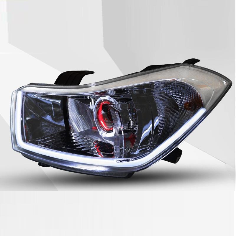 Para Styling Automovil Assessoires Cob Auto Drl Led Side Turn Signal Accessory Headlights Car Lights Assembly For Suzuki Sx4