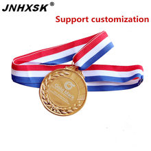 JNHXSK Christmas Promotion Gold Customization Private birthday present Reward laser marking machine free shipping cheaper prices(China)