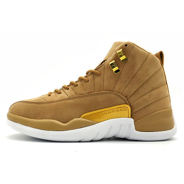 6e8a9bf1d11 Detail Feedback Questions about High Quality Jordan 12 men basketball shoes  Gym Red Basketball Shoes Playoff white Blue Flu Game outdoor Sport Shoes on  ...