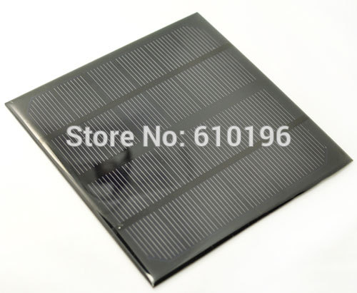 5PCS/LOT 6V 3W Monocrystalline Photovoltaic Solar Panels Generate Electricity Mini Rechargeable For Lithium Battery Components