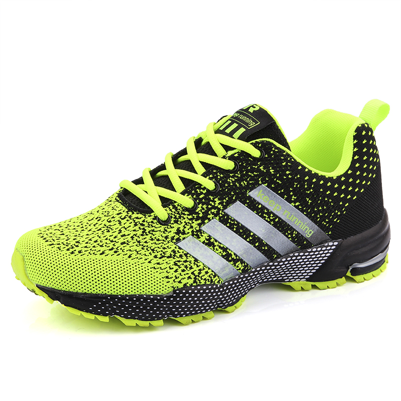 Unisex Sneakers Women Running Shoes Female Male Breathable Tennis Trainers Men Lace Up Jogging Shoes Man Athletic Footwear