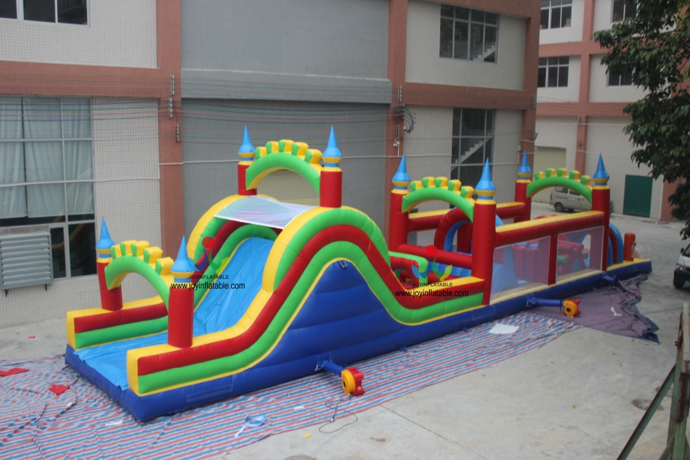 2018 Cheap And High Quality Large inflatable obstacle playground kids obstacle course