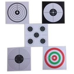 Guguluza 100 pcs set paper target for shooting practise 14cm archery target paper bow arrow set.jpg 250x250