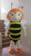 size bee mascot costume for new year party free shipping