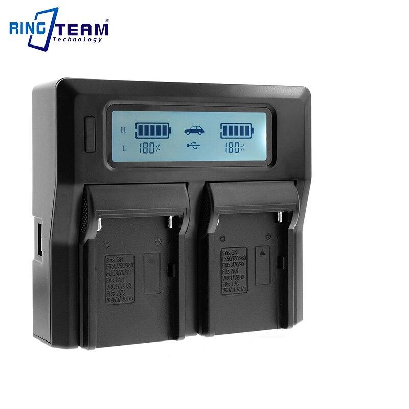 Palo 3 Pcs Np-f970 Np-f960 Kamera Batterie & Lcd Batterie Ladegerät Für Sony Ccd-sc5 Ccd-trv101 Ccd-trv15 Ccd-trv25 Ccd-trv36 Ccd-tr940 Digital Batterien