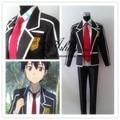 Sword Art Online Cosplay Clothing Unisex Anime Sword Art Online Kazuto Kirigaya Cosplay Costume Japanese School Unirom