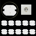 10Pcs Plug Socket Cover Baby Proof Child Safety Plug Protector Guard Mains