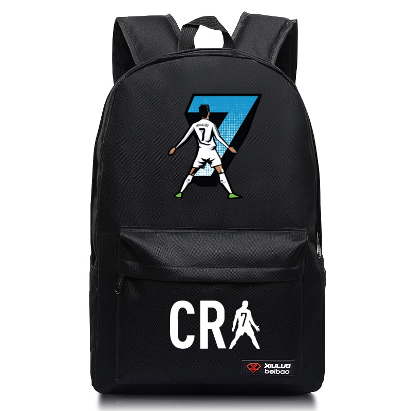 Cristiano Ronaldo 7 Backpack CR7 Bag USB Multifunction Charging Travel Bags Laptop School Bags for Teenage Boys Girls стоимость