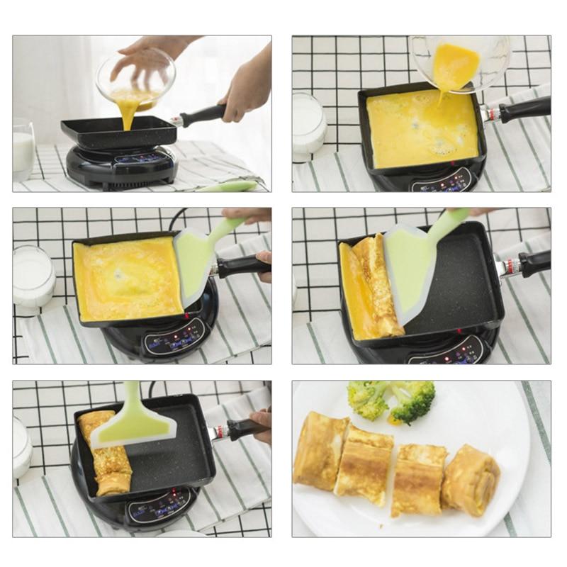 Pancake Egg Pot Aluminium Alloy Nonstick Frying Pan Cookware Deep Gas Induction Stove Grill J2Y