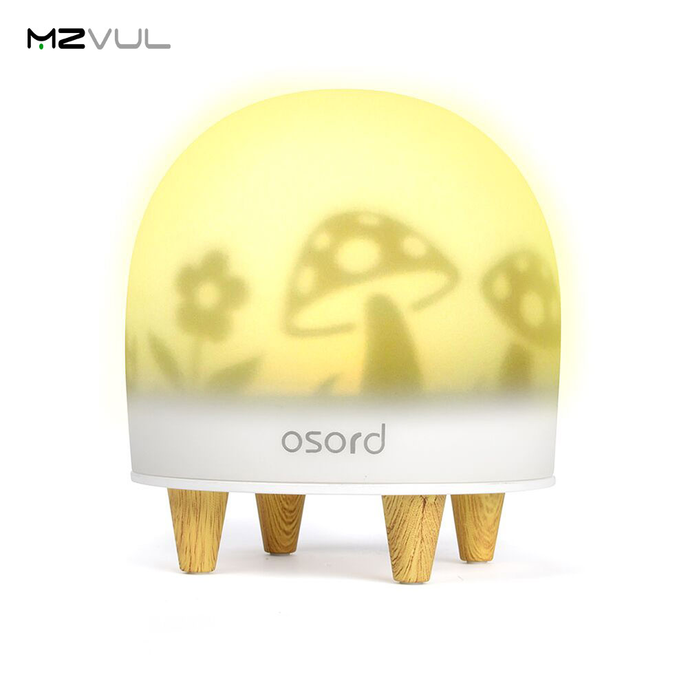 New style 7 Colors USB Night Light For Children Baby Kids Bedside Lamp Breathing Decorative Mood Lamp LED Night Light