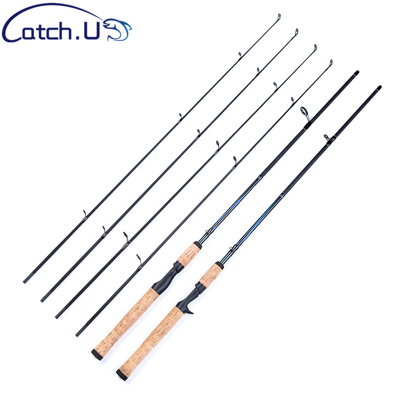 Catch.U Fishing Rod Carp, Hard Fast Action Casting Fishing Rod Carbon Fishing Pole