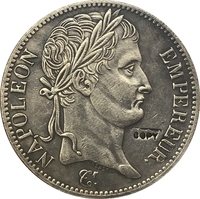 França 1807 Francos moedas copie 5|coin atm|coins quarters|coin cell battery holder -