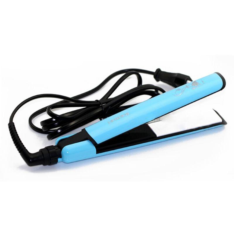Kemei KM-8815 anion hair care ceramic panels hair straightener printing panels perm hair salon