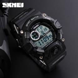 Бренд SKMEI 2017 армия камуфляж военные часы привело цифровые часы модные уличные водонепроницаемые мужские спортивные часы Montre Homme