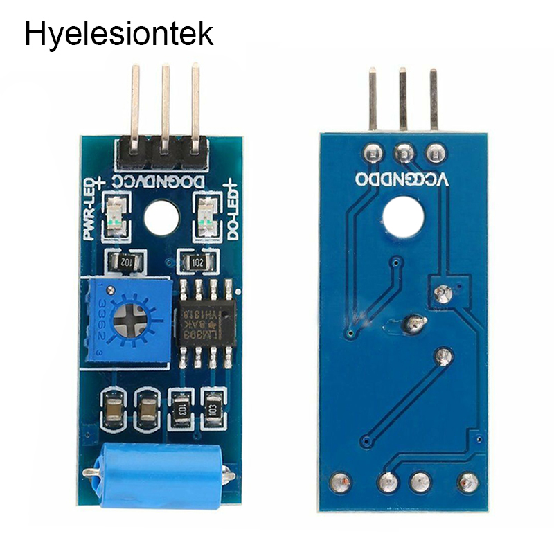 SW-420 Vibration Sensor For Arduino Digital Tilt Shake Shock Sensor Module Motion Alarm Switch Detector Electronic DIY Kit 3.3-5