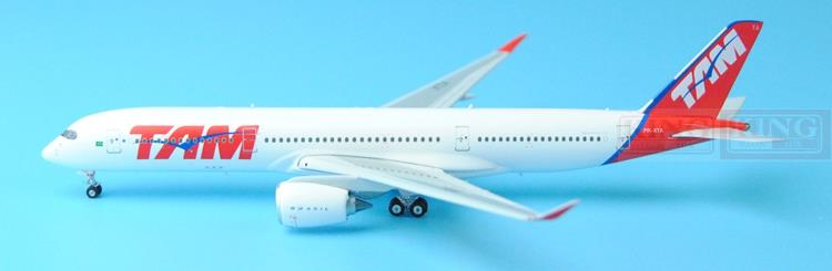 все цены на  Phoenix 11191 A350-900 PR-XTA 1:400 of Brazil Pegasus Airlines commercial jetliners plane model hobby  в интернете