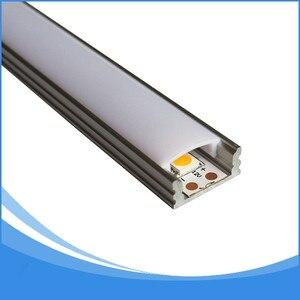 Image 5 - Светодиодный алюминиевый профиль длиной 1 м, 10 шт., бесплатная доставка, Светодиодная лента, алюминиевый корпус канала, артикул LA LP07 для светодиодной ленты шириной 12 мм