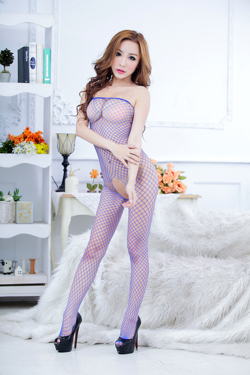 Fishnet suit porn
