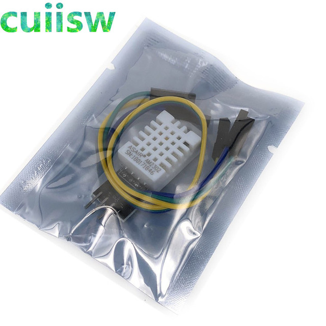 5PCS DHT22 Digital Temperature and Humidity Sensor AM2302 Module+PCB with Cable
