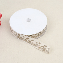 Double Swan Embossed Belt Craft Edging 2cm Cotton Classic Clothing Home Improvement Accessories Polyester