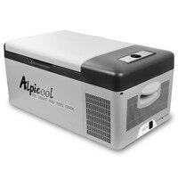15-35L Wiederaufladbare-20C Hause Auto Dual-use-Mini-Kühlschrank Kompressor Einfrieren 12 v/24 v Kleine Kühlschrank 220v Tragbaren Kühlschrank