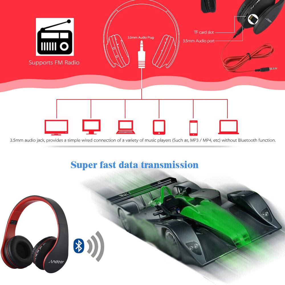 HTB1N dqSXXXXXaqXFXXq6xXFXXXF - Digital 4 in 1 Andoer LH-811 Stereo Wireless Bluetooth