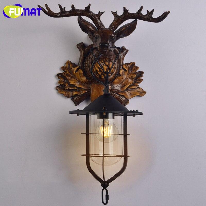 Deer Head Wall Lamp 17