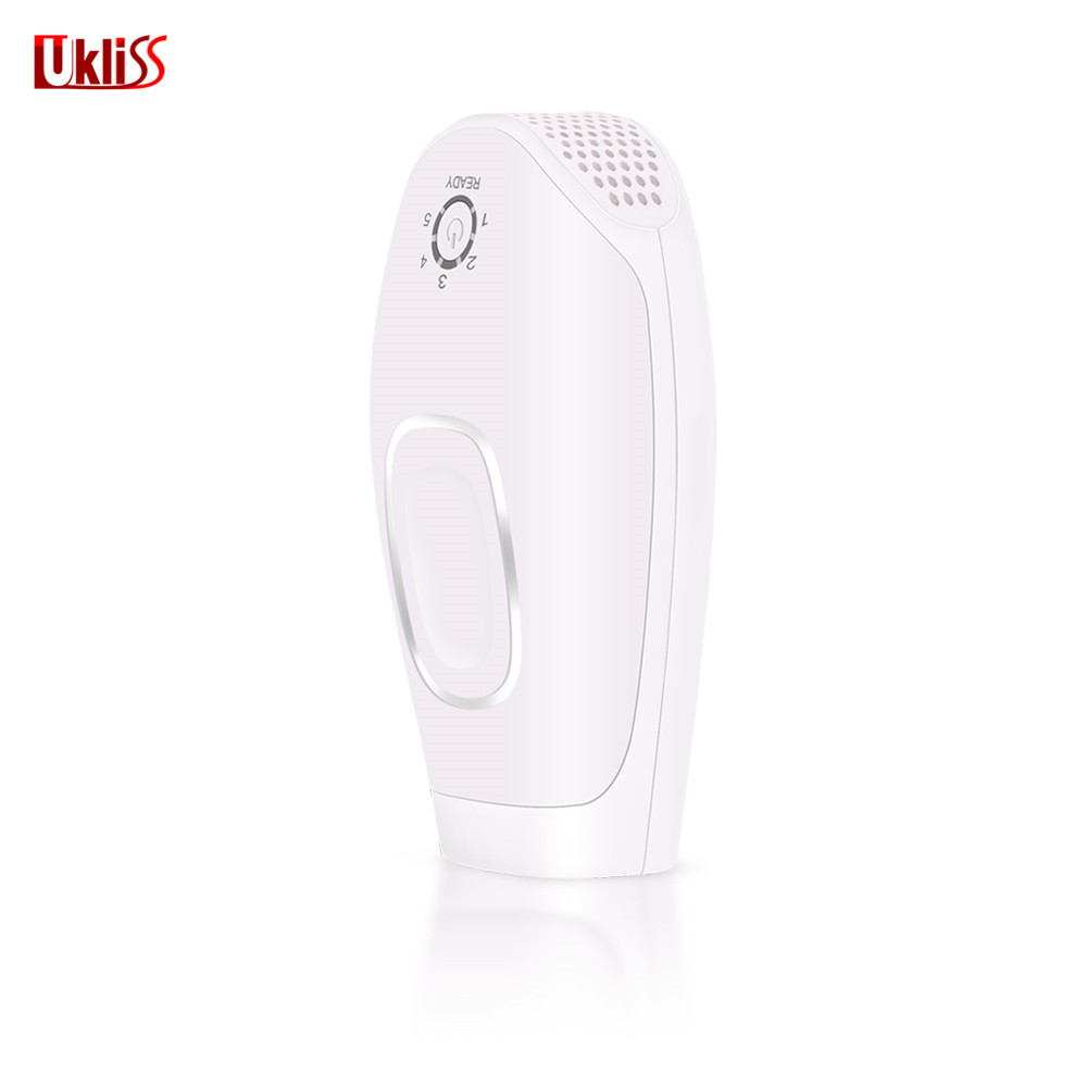 UKLISS Electric Painless Hair Removal Laser Epilator Permanent Light IPL Home Machine Depilatory Body Bikini Face Leg Underarm