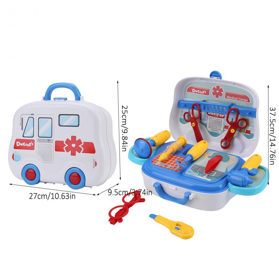 Kids Miniature Pretend Play Plastic Toys Cooking Medical Equipment