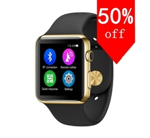 Original pulsmesser bluetooth smart watch smartwatch unterstützung wireless charging für ios android-system smartphone