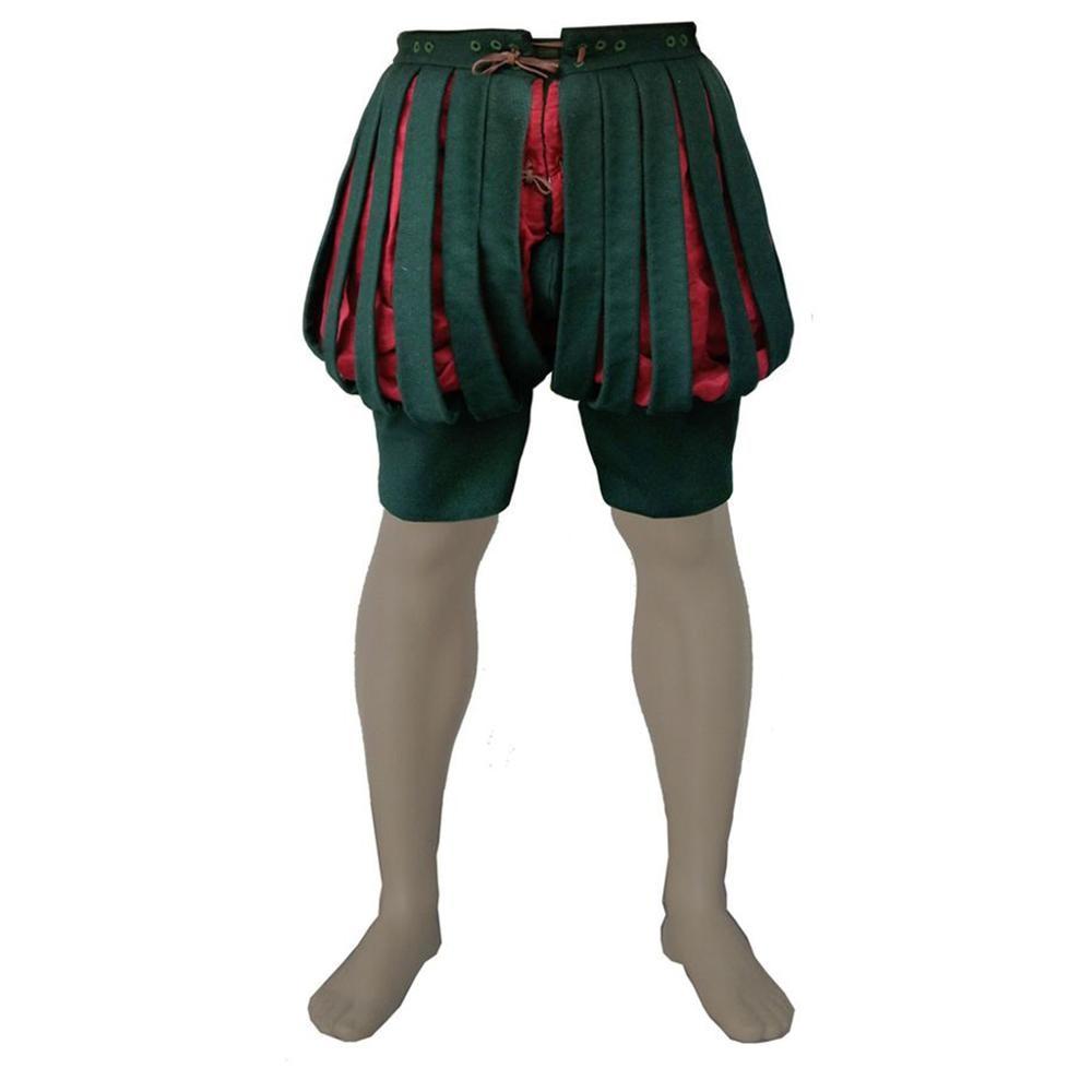 Cosplaydiy Tudor Elizabethan Cosplay Pants Shakespeare Renaissance Medieval Dudor Prince Military Pants L320