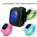 Q50 Smart Kid Safe GPS Smart Watch Наручные Часы SOS Вызова Расположение Finder Locator Tracker OLED/ЖК-Дисплей Ребенка Борьбе Потерянный монитор