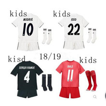 e31f9e312 2018 boy child kids kit Real Madrid kit football shirt Shirt Realed  Madrided kit shirts 18 19 Home Away 3RD kit soccer shirt