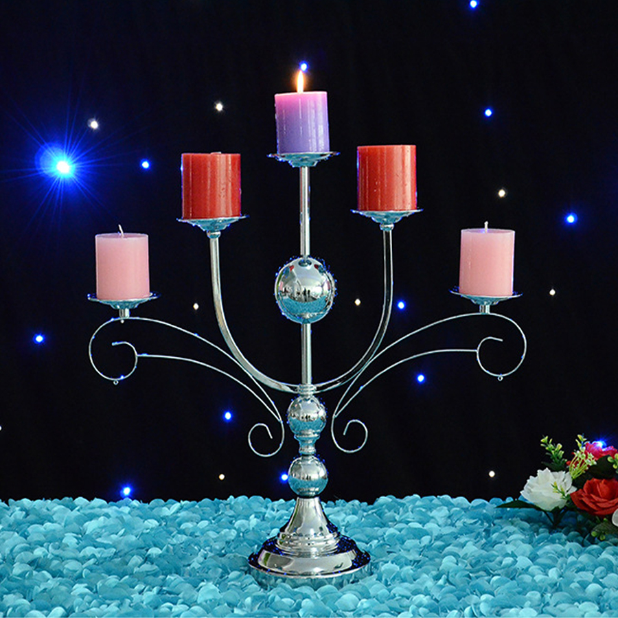 NEW wedding champagne tower candlestick dual creative wedding props water variable optical glass tower wedding accessories escaping magic props silver champagne