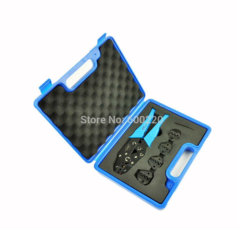 цены LS03C-5D3 Crimping Tool Combination Tool Sets, terminal crimping tool with replaceable dies tool box