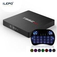 iLEPO T95Z MAX Android 7.1 TV Box Amlogic S912 2G/16G 3G/32G 2.4/5GHz Dual band WiFi 1000M LAN BT 4K H.265 Smart Streaming Media