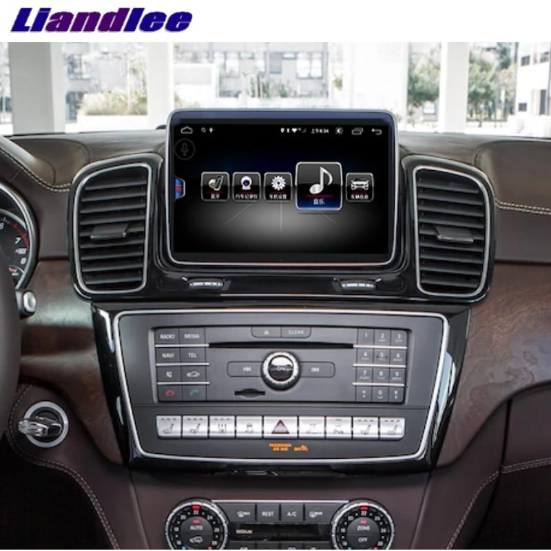 For Mercedes Benz MB GLE M ML Class W166 2015~2018 Liandlee Car Multimedia Player NAVI Car Radio Accessories GPS Navigation 1