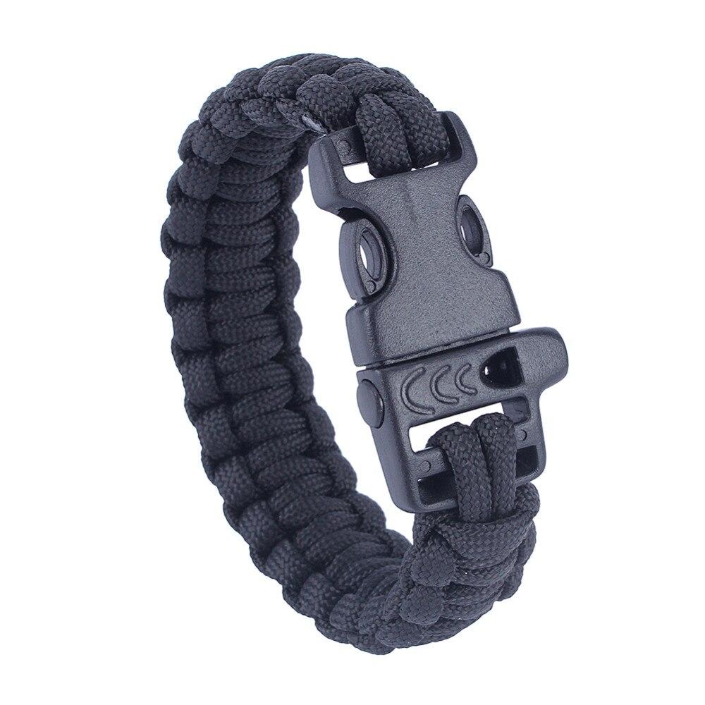 Purple Luggage & Bags Wholesale 5pcs*7 Strand Survival Military Weave Bracelet Cord Buckle